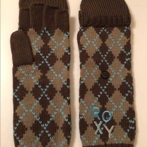 NWOT Roxy Convertible Mitts/Gloves